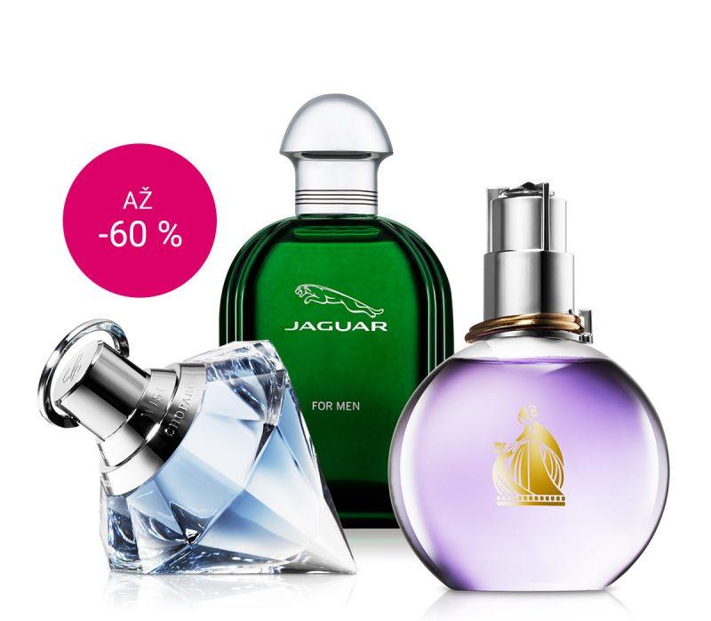 Zľava až 60 % na top parfémy!