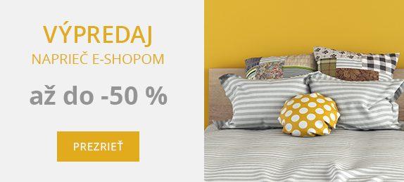Výpredaj naprieč e-shopom Bonatex až do -50 %