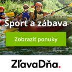 Športové aktivity a voľný čas, ponuky na ZľavaDňa