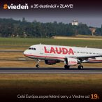 Celá Európa za perfektné ceny leteniek z Viedne od 19€