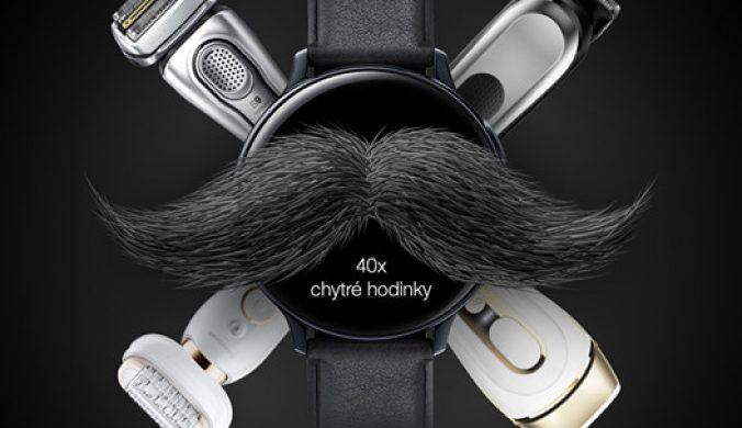 Súťaž Braun o 4 000 € alebo chytré hodinky Samsung