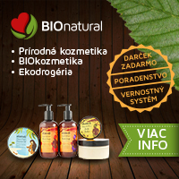 BioNatural zľavový kupón 5€