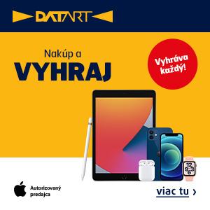 Nakúp na Datart.sk a vyhraj hodnotné ceny od Apple alebo zľavy až 50%