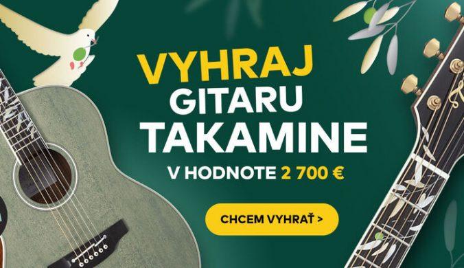 Vyhraj Takamine, jednu z najlepších gitár na svete!