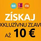 Zľavy pre ISIC, ITIC a EURO na Hej.sk